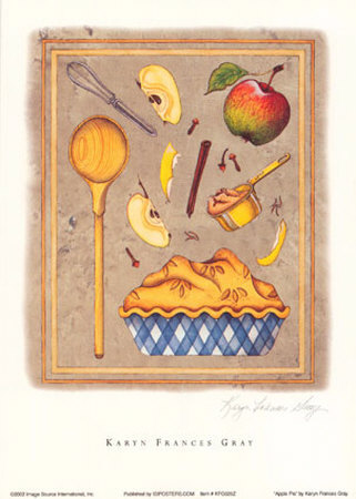 Apple Pie Prints by Karyn Frances Gray