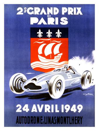 2nd Grand Prix de Paris Giclee Print by Geo Ham!