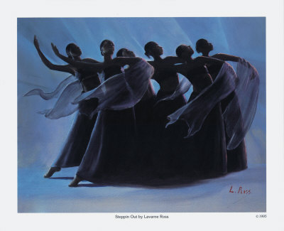 Steppin' Out Prints by Laverne Ross
