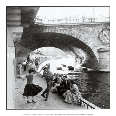 Rock 'n' Roll sur les Quais de Paris Prints by Paul Almasy