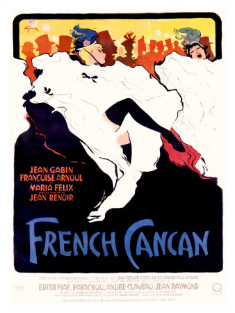 French Cancan Giclee Print by Alicia Grau