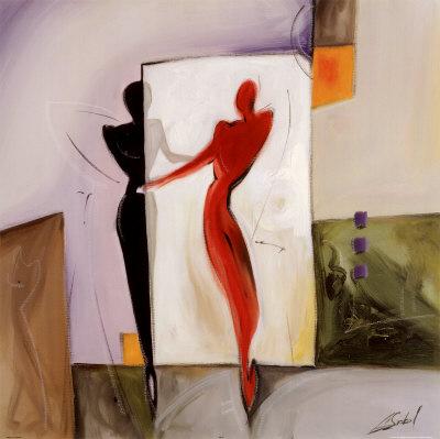 Mirror Image II Kunsttryk