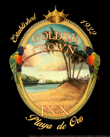 Golden Crown Inn Posters by Catherine Jones