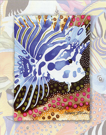 Tropic Fish I Print by Nathalie Le Riche