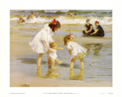 children playing. Children Playing at the