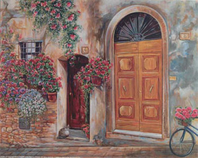 My Doorstep Prints by Cathy Groulx