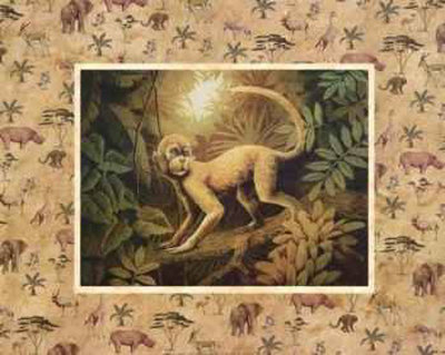 Safari, Monkey Prints by T. C. Chiu