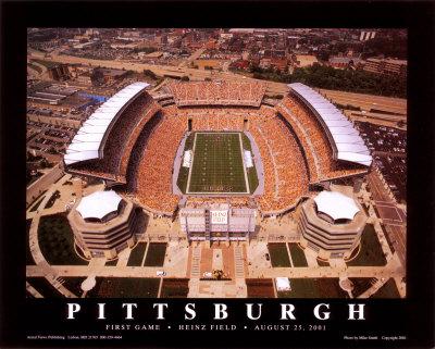 ピッツバーグ(第1戦ハインツフィールド 2001/08/25) ポスター : マイク・スミス
