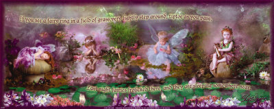 If You Can See a Fairy in a Field... Art Print