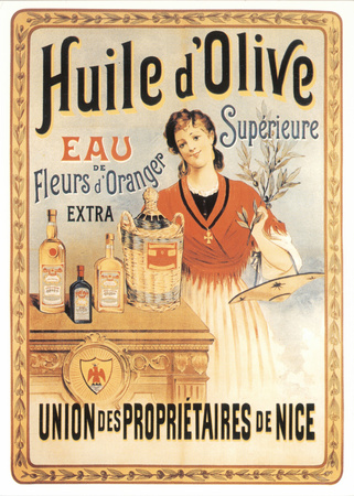Huile d'Olive Posters