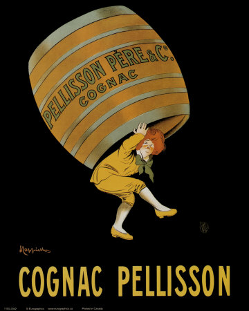 Cognac Pellisson Prints by Leonetto Cappiello