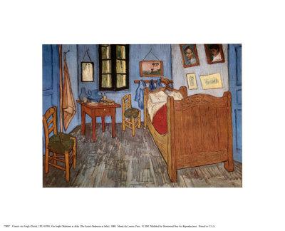 O quarto em Arles, cerca de 1997 Impressão artística