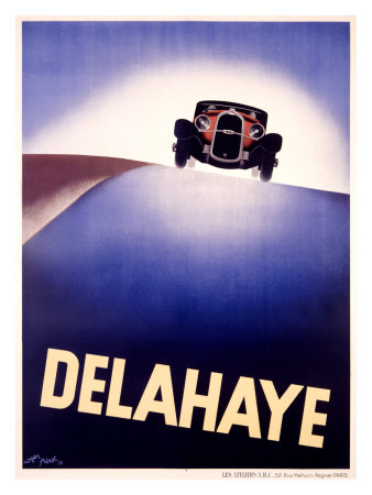 Delahaye Giclee Print by  Perot