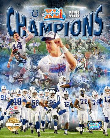 Indianaplois Colts Super Bowl XLI Photo