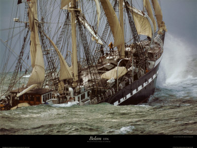 Belem Prints by Philip Plisson
