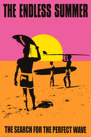 The Endless Summer surfing documentary cover art poster