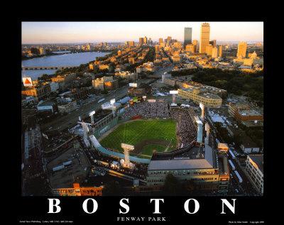 ボストン - フェンウェイパークでのオールスター戦 高品質プリント : マイク・スミス