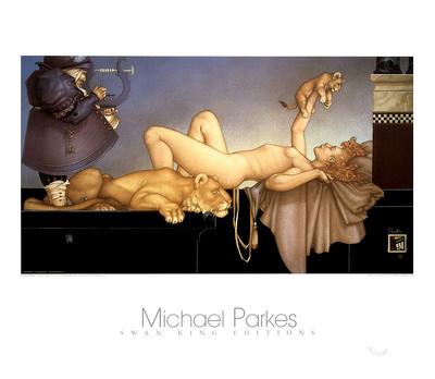 Dawn Prints by Michael Parkes