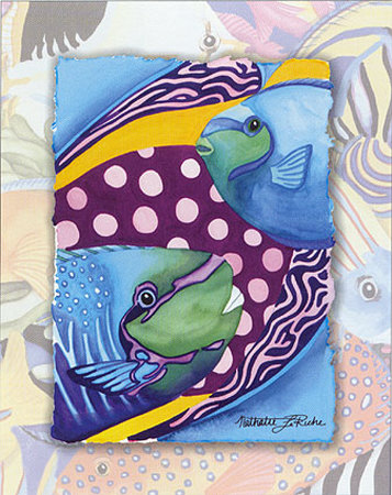 Tropic Fish II Prints by Nathalie Le Riche