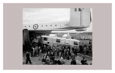 Blackburn Beverley Freighter Transport, Farnborough Air Show, 1954 Prints
