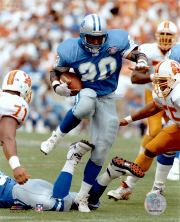 Barry Sanders - Action Photo