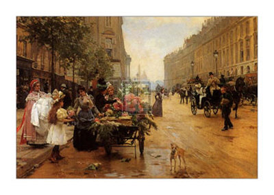 Rue Royale, Paris Posters by L. Shryver
