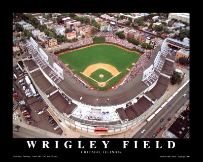 Wrigley Field - Chicago, Illinois Reproduction d'art