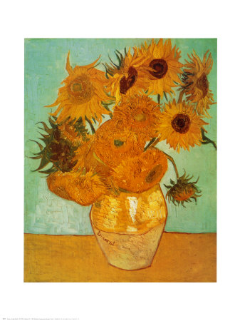 Sunflowers, c.1888 Art Print
