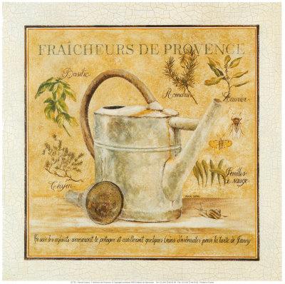 Fraicheurs de Provence Poster by Pascal Cessou