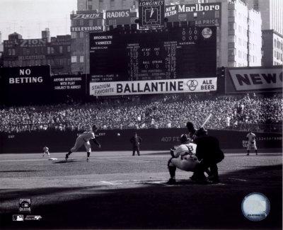Don Larsen - Perfect Game - 1st Pitch Photo