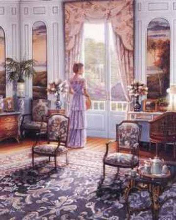 Victorian Lady III Art by John O'brien