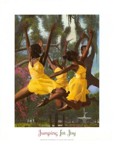 Jumping For Joy Art by Gregory Myrick