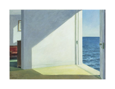 Chambres avec vue sur la mer, 1951 Reproduction d'art