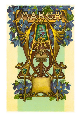 Art Nouveau March, Aries Poster at AllPosters.com