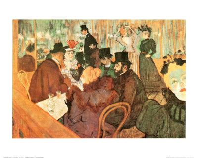 Le Moulin Rouge Poster by Henri de Toulouse-Lautrec
