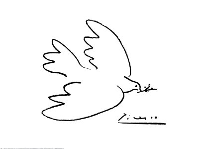 Dove of Peace Impresso artstica