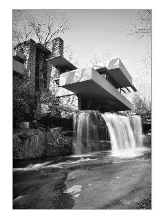 Frank Lloyd Wright, Falling Water Prints