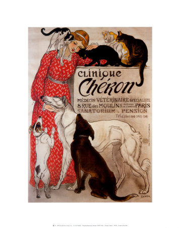 Clinique Cheron, c.1905 Art Print