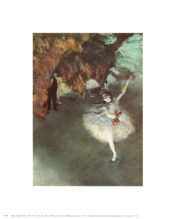 The Star Art by Edgar Degas