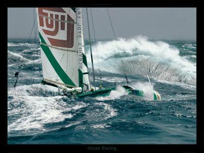 Ocean Racing Posters by Gilles Martin-Raget