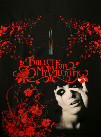 pictures of bullet for my valentine. Bullet For My Valentine Fabric