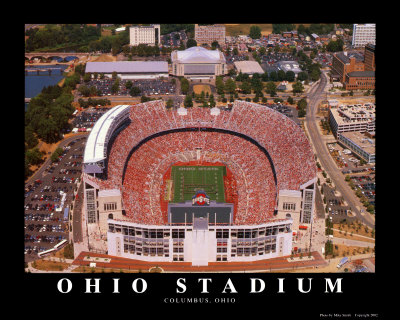 Ohio Stadium 高画質プリント : マイク・スミス