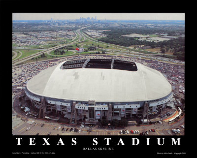 Texas Stadium - Dallas Cowboys Posters