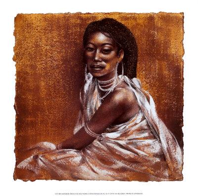 Ebony III Posters by Ben Mogador