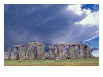 Stone Henge, W Essex, England Photographic Print by David M. Dennis