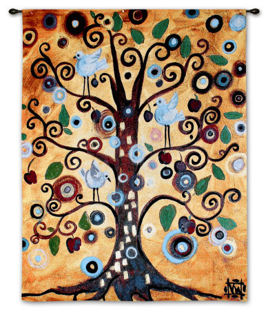 Untitled From The Tree Of Life Tapiz