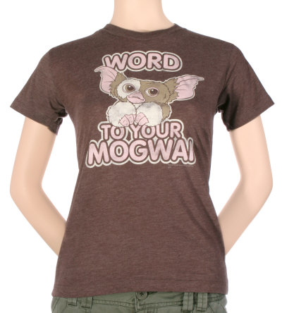 Juniors: Gremlins - Word to Your Mogwai T-shirts