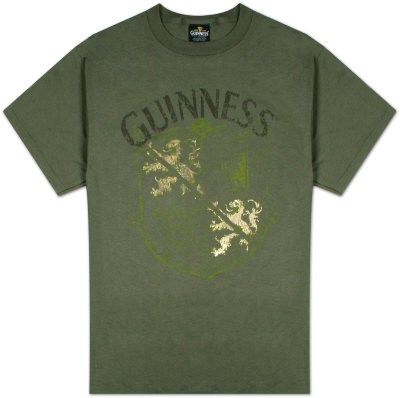 Guinness - Large Crest w/Foil T-Shirt