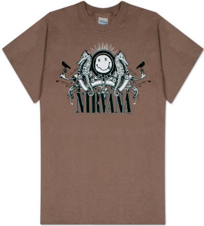 Nirvana Seahorse Smile T