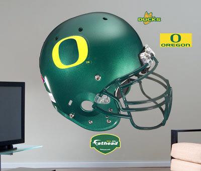 Oregon Ducks Helmet -Fathead Wall Decal